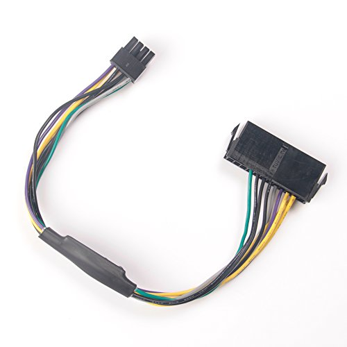 GAOHOU 24ピンto 8ピン電源ケーブル DELL Optiplex 3020 7020 9020 T1700 Q75 65用