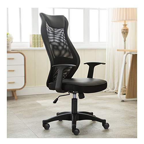 Genneric Capa silla del acoplamiento respaldo alto Silla giratoria de oficina doble malla...