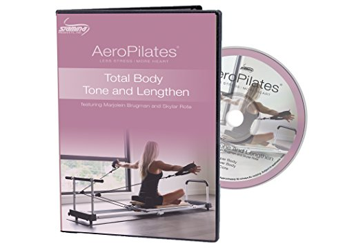 AeroPilates by Stamina Total Body Tone & Lengthen Workout DVD (05-9135D)