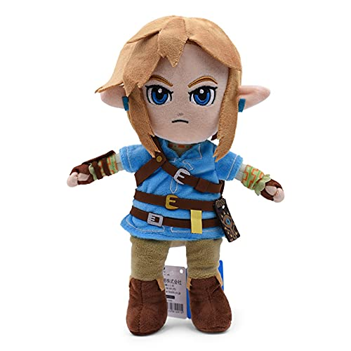 rodjl Juguetes De Peluche De Zelda Cute Link Boy Zelda Muñeco De Peluche Suave De Juguete para Niños 28Cm