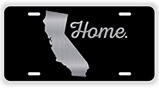 JMM Industries California State Home Metal Vanity License Plate Tag Auto Novelty Aluminum 12-Inches by 6-Inches ELP 003