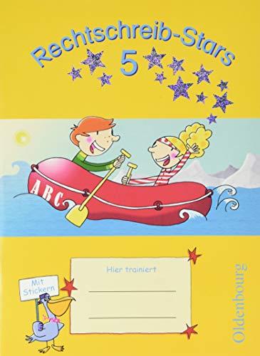 Rechtschreib-Stars - 5. Schuljahr - Übungsheft mit Lösungsheft (Rechtschreib-Stars / Ausgabe 2008)