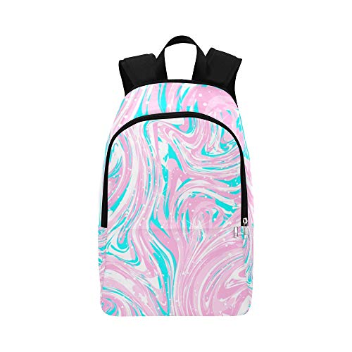 NANA Bag for College Girl Fashion Createcolorful Flashing Ripple Durable Water Resistant Classic College Daypack Toddler School Bag Business Casual Bag Best Backpack