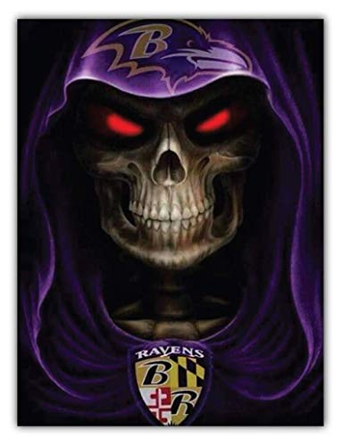 Baltimore Ravens Evil NFL - Sticker Decal Vinyl Bumper Sticker Decal Waterproof