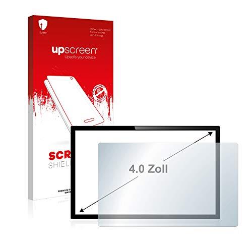 upscreen Schutzfolie für 4 Zoll Kameras (89 x 50.2 mm, 16:9) – Kristallklar, Kratzschutz, Anti-Fingerprint