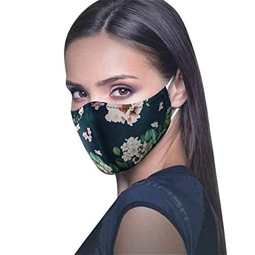 N / A Weihnachtsgedruckte, lustige Persönlichkeitsmasken, universelle TrumpGesichtsmasken für Männer und Frauen, Staub und Nebelmasken für den Außenbereich