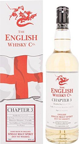 The English Whisky Chapter 3 Single Malt Spirit mit Geschenkverpackung (1 x 0.7 l)