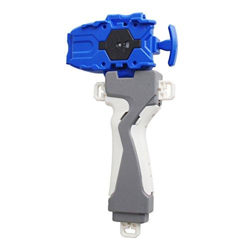Sharplace Kunststoff String Launcher & Griff Für Kampf Kreisel 3053 Series B48 / B66 - Blau