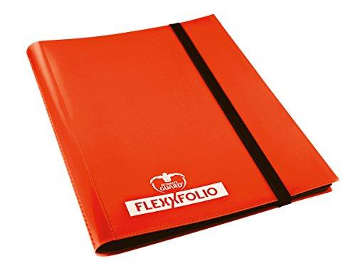 Ultimate Guard UGD10175 Jeu de Cartes 9 Poches Flex Folio Orange