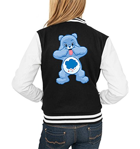 Certified Freak Angry Bear Tongue College Vest Girls Black M