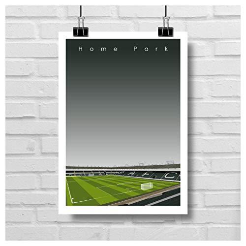 Home.Ground.Prints Wandkunst, Grafik-Design, Fußballstadion, Geschenkkollektion – Plymouth Argyle FC