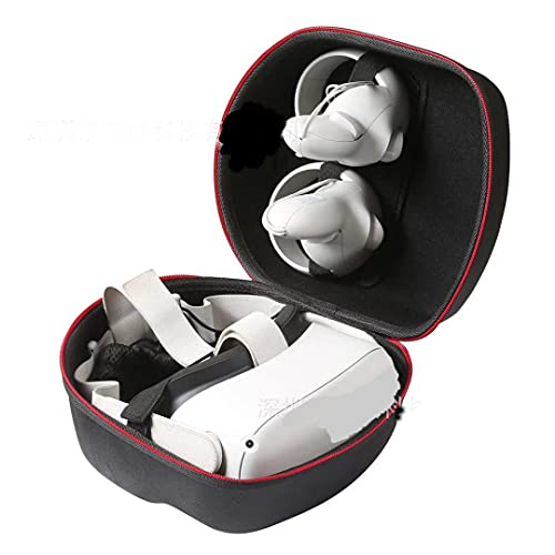 Funda de transporte para auriculares Oculus Quest 2 VR para juegos de auriculares, funda protectora dura bolsa de almacenamiento EVA a prueba de golpes