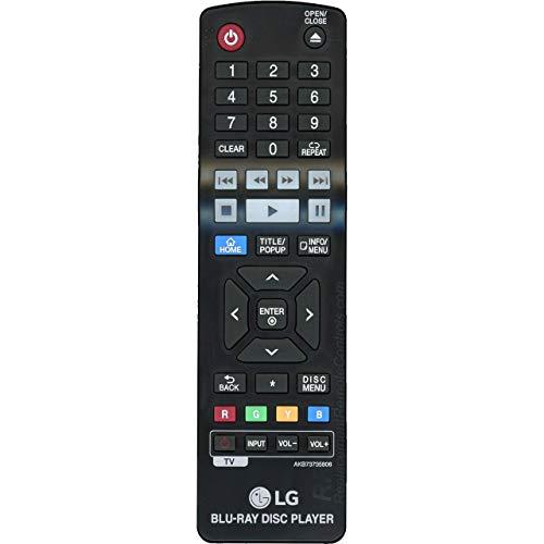 OEM LG Remote Control Originally Shipped With: BP340, BP350, BPM25, BPM34, BPM35
