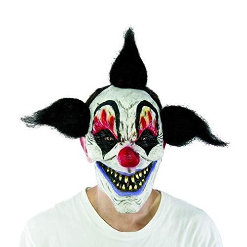 LUOEM Halloween Clown Masque Scary Joker Clown Masque Costume Adulte Fant/ôme F/ête Party Masque Fournitures D/écoration
