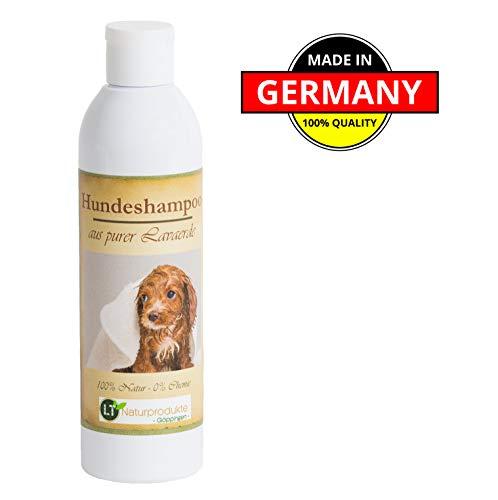 Hondenshampoo | Organisch | Chemisch en zeepvrij | Hypoallergeen | tegen jeuk | met originele Marokkaanse lava aarde | 250ml | voor korte en lange vacht