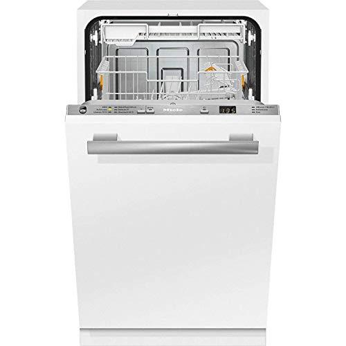 Lavavajillas de integrable G 4782 SCVI LI, con preselección de hora de inicio y bandeja portacubiertos, A++, color blanco, 60 x 45 x 85 centímetros (referencia: Miele 21478262E)