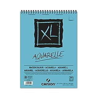 CANSON Bloc 30 Feuilles Dessin XL Aquarelle A4 300g Grain Fin (B00L8JFILS) | Amazon price tracker / tracking, Amazon price history charts, Amazon price watches, Amazon price drop alerts