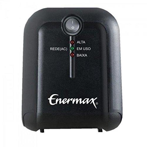 Estabilizador EXS II Power 1000VA Bivolt Preto Enermax