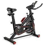 SAFGH Bicicletas estáticas magnéticas Bicicleta estática con transmisión por...