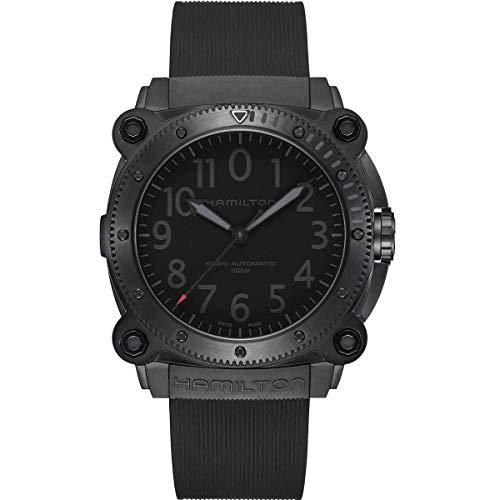 HAMILTON Relojes DE Pulsera H78505332 HAMILTON Khaki Navy BeLOWZERO Auto - Limited Edition Automático | 46mm | H78505332