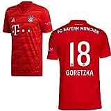 adidas FCB FC Bayern München Trikot Home Heimtrikot 2019 2020 Herren Goretzka 18 Gr XXL