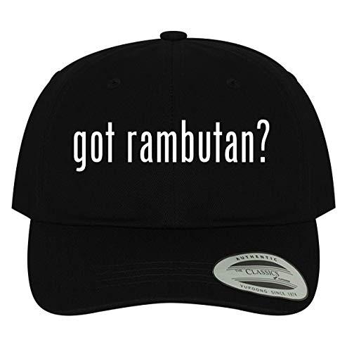 BH Cool Designs got rambutan? - Men's Soft & Comfortable Dad Baseball Hat Cap, Black, One Size