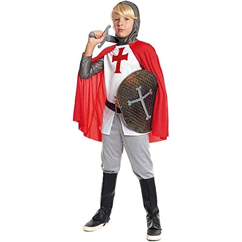 Disfraz Caballero Cruzadas Nio Carnaval Histricos (Talla 3-4 aos) (+ Tallas)