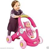 Poupée MiniKiss Baby Walker 2 en 1 [Smoby]