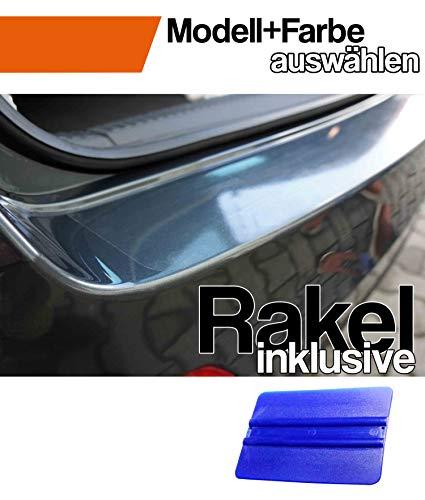Mokka X Ladekantenschutz Lackschutzfolie mit Profi-Rakel von CCW© in Transparent