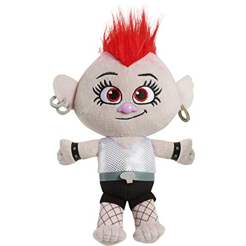 DreamWorks Trolls World Tour 8-Inch Small Plush Barb, Stuffed Toys for Kids, Multi-Color