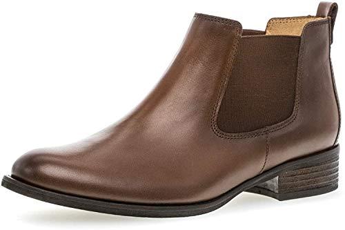 Gabor Damen Chelsea Boots 31.640, Frauen Stiefelette,Stiefel,Halbstiefel,Bootie,Schlupfstiefel,flach,Sattel (Effekt),39 EU / 6 UK