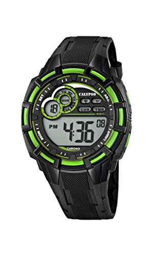 Calypso Orologio Cronografo Quarzo Uomo con Cinturino in Silicone K5625/3