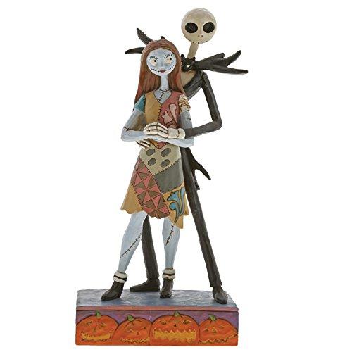 Disney Traditions, Figura de Jack Skellington y Sally, para coleccionar, Enesco
