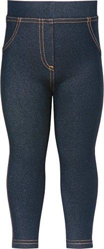 Playshoes Mädchen Coole Baby, Jeans Optik, Oeko-Tex Standard 100 Legging, Blau (original 900), 62 (Herstellergröße: 62/68)