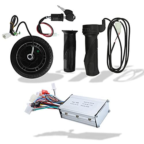 DAUERHAFT 8-Zoll-Umbausatz für hochzuverlässige DIY-Elektroroller, bürstenloser Nabenmotor, mit Controller 8-Zoll-Umrüstsatz für Elektroroller für Elektroroller
