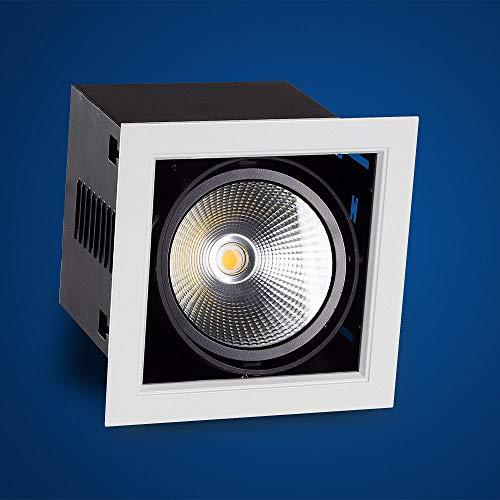 Mextronic Einbaustrahler 35W 1-fach Einbauleuchte Kardan 840 Neutralweiß