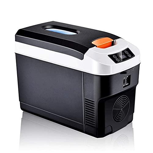 BAOZUPO Mini refrigerador 10L Refrigerador de Coche Refrigerador portátil Horizontal Calentador para el Dormitorio de la Oficina en casa del Coche