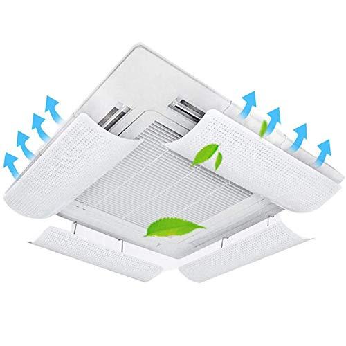Atack-B Klimaanlage Windabweiser Anti Direct Blasen Windschutzscheibe Schallwand Für Schlafzimmer Büro Hotel?Zentraler Deflektor Der Klimaanlage (58 * 23 cm * 4)