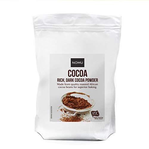 NOMU Cocoa Powder | Ideal Mix for Milk, Hot Chocolate, Baking, Keto Bars or Vegan Diets (1Kg)
