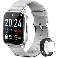 Aoyodkg Smart Watch Fitness Tracker (Gray)