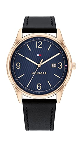 Tommy Hilfiger Analog Blue Dial Men's Watch-TH1791815W