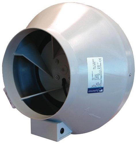 Canna - Extractor de aire Tubular RVK Systemair Sileo 200E2-A1 778 m³/h (200mm)
