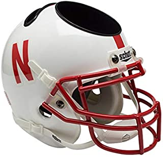 Schutt NCAA Nebraska Cornhuskers Football Helmet Desk Caddy