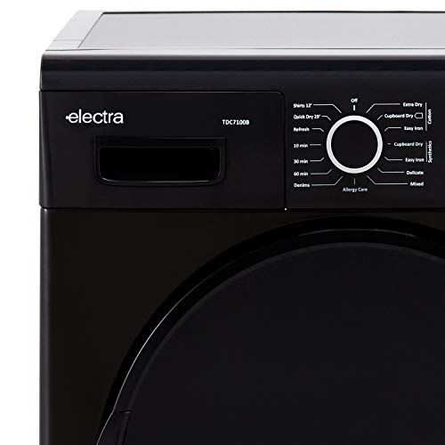 Electra TDC7100B 7Kg Condenser Tumble Dryer - Black - B...