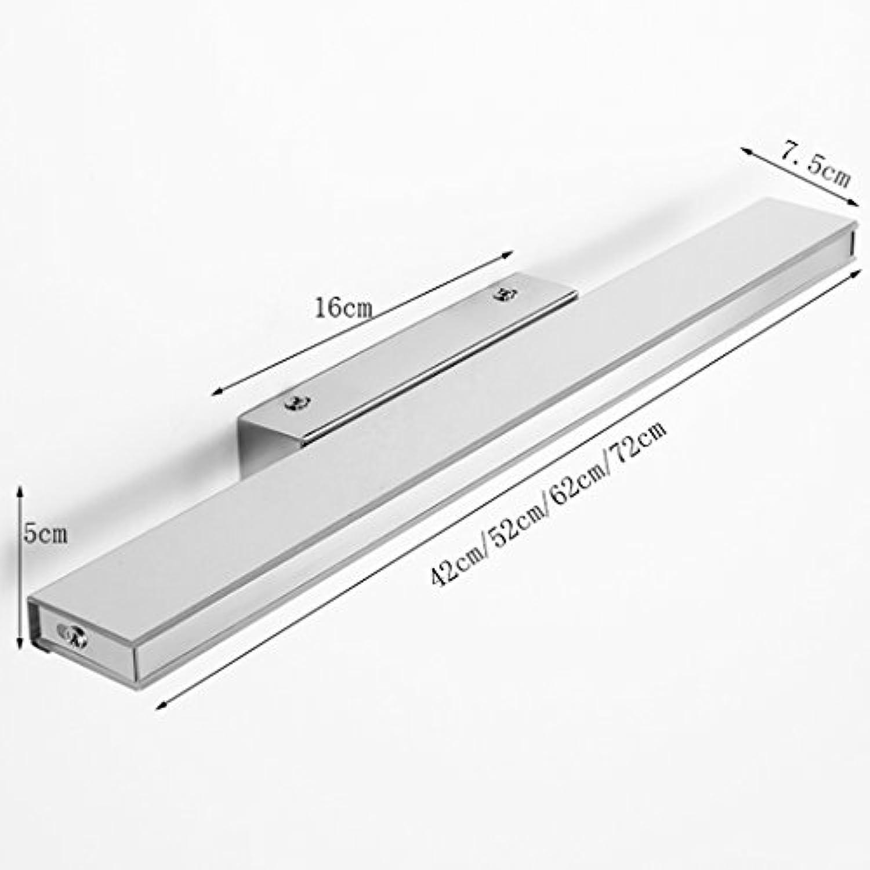 Einfache moderne LED-Spiegel-vordere Lampe wasserdichte Anti-Fog-Badezimmer-Spiegel-Lampe European Mirror Cabinet Light LED Wandleuchte +A (Farbe   14W-Warm light)