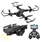 XS809 RC plegable Quadcopter Drone con Altitude Hold FPV VR Wifi Gran...
