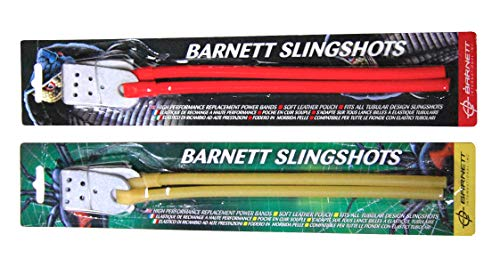 Barnett Natural Power Band Black Widow Cobra Diablo Strike 9 Catapult Slingshot Rubber Elastic Yellow