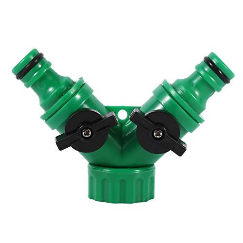 Conector de Grifo Control de válvula 1 Uds 3/4'Adaptador de Manguera de jardín Interruptor de Conector de Grifo de riego para riego de jardín