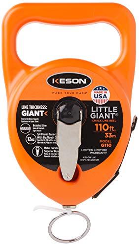 Keson G110 Giant String Chalk Line Reel