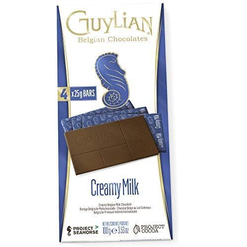 Guylian Now free shipping Creamy Milk Block - 3 of Pack 100g Sales for sale